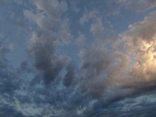 Un ciel comme je les aime...