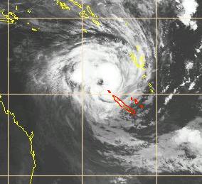 Alerte cyclonique en Nouvelle Calédonie