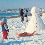 Plus de 30 cm de neige sur la Côte d'Azur en janvier 1985
